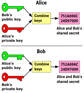 SSL Asymmetric Key Relationship